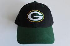 Green Bay Packers NFL Football Cap Berretto Taglia Unica Team Apparel chiusura in velcro