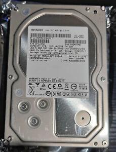 "Lot of 2 Hitachi 3TB 64MB 7200RPM SATA 3.5"" Desktop Hard Drive"