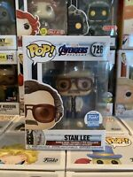 FUNKO POP! AVENGERS END GAME STAN LEE #726 FUNKO SHOP EXCLUSIVE LE *IN HAND* RTS