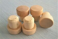 More details for high quality cork bottle t-stoppers extra large with flat top cap seal wine brew