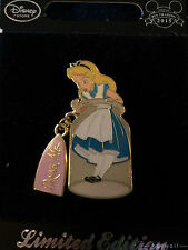 UK Disney Store Europe ALICE IN THE BOTTLE Drink Me Alice in Wonderland Pin