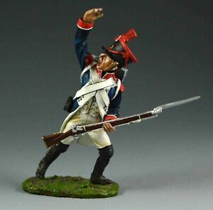 KING & COUNTRY THE AGE OF NAPOLEON P11 FRENCH LINE INFANTRY SERGEANT LEADING