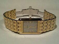 "Citizen AR1000-51A Men's Eco-Drive Stiletto ""Golden Plated"" 18Kt"