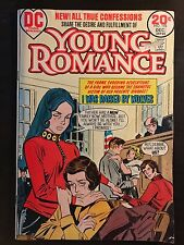 Young Romance #196 comic book 1973 DC Comics I Was Raised By Wolves
