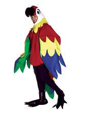 Adulto Deluxe Parrot Animal Disfraz Std Fancy Dress Nuevo