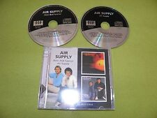 """Air Supply - Now and Forever/Air Supply RARE UK """"BGO"""" 2xCD Digitally Remastered"""