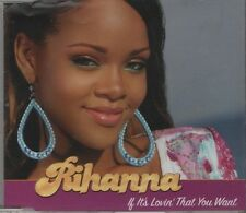 RIHANNA If it's lovin' that you want  2 TRACK CD NEW - NOT SEALED