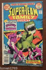 DC COMICS SUPER-TEAM FAMILY GIANT #8 VOL 2 DEC/JAN 1976/77 CHALLENGER OF UNKNOWN
