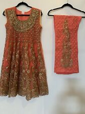 Indian Pakistani Shalwar Kameez,  Embroidered Women Stitched