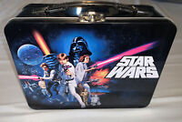 Classic STAR WARS: A NEW HOPE Large Tin Tote / Metal Lunch Box Set