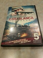 Casablanca Express Includes 5 Bonus Movies Dvd Glenn Ford, Michael Culver