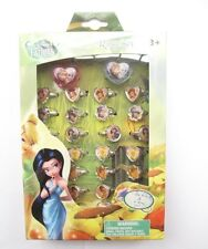 1box 30 pcs Cute Disney Tinker Bell new popular Fancy Ring in Box kids gifts