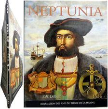 Neptunia n°198 1995 Marine Jacques Cartier Croiseur cuirassé Mâture gréement etc