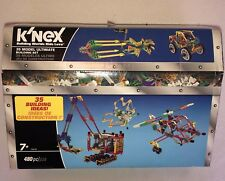 New K'nex 12418 Set 35 Building Ideas 480 Pieces Knex Toy