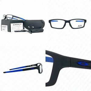 Authentic Oakley Crosslink Pitch Asian Fit OX8041-2156 Steel Cobalt w/Demo Lens