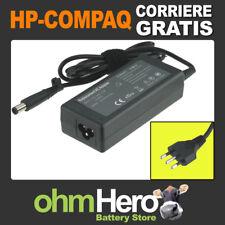 Alimentatore per HP-Compaq 18.5V 3.5A 65W 7.4mm + pin , spina ita