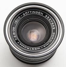 Isco Göttingen Berolina Westromat 1:2.8 2.8 35mm 35 mm - M42 Anschluss