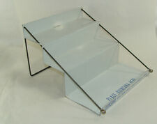 Vintage QUINSANA Advertising Metal Drug Store Counter Display 3 Shelf Rack