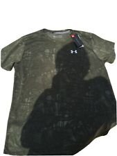 Under Armour Mens XL T Shirt. Camo Pattern