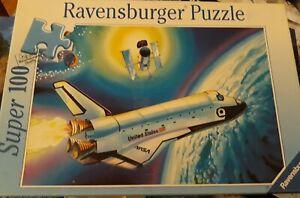 Super100 Ravensbuger Puzzle Original. Space Shuttle. 49cmx36cm.