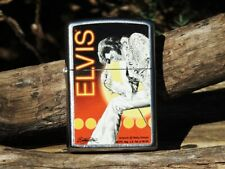 Zippo Lighter - Elvis Presley - Betty Harper - Rare - On Stage - Limited Edition