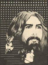GEORGE HARRISON (BEATLES) - PHOTO'S + ARTICLES DUTCH MUSIC MAGAZINES 1969-1972