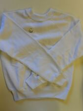 "NOS Vintage '70's Gad-abouts Sweatshirt Size Medium 36""-37"" Chest White USA"