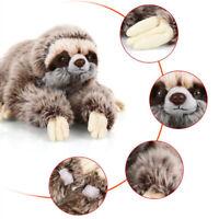 TEDDY Three Toed Stuffed Toy Birthday Animals Critters Soft Plush Sloth Cute
