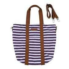NWT - KINDRED BRAVELY Women's 'FLORENCE' Heather Gray Striped TOTE