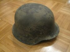 Stahlhelm der Wehrmacht M42 WH LW Krad Panzer Soldat Helm