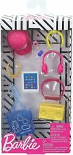 BARBIE FASHION ACCESSORY PACK * TOTE, TABLET, BOOMBOX, HEADPHONES, CAP, JEWELRY