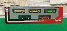 HERPA 1/87 Set 30 ANNI MINIATURE PER BISARCA BMW 633 CSi Porsche 924 VW