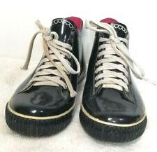 Capelli Women's Black Rubber Lace Up Rain Ankle Boots Size 10 US M