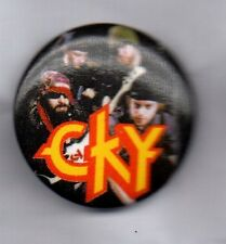 CKY Camp Kill Yourself BUTTON BADGE Infiltrate-Detroy-Rebuild HEAVY METAL 25mm