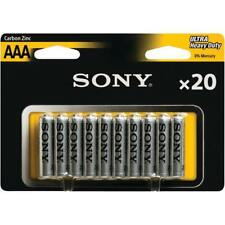 Sony AAA Single Use Batteries For Sale