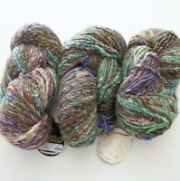 Noro Yarn Wool Silk Cashmere 3 Hanks Transitions 396y Bulky Variegated Japan