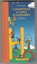 Comptines en forme d'alphabet Jo Hoestlandt