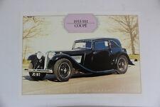 1933 ss1 Coupé Jaguar Daimler Heritage Trust Oldtimer ORIG prospectus 5.1 1148 dl9
