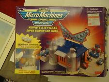 Micro Machines Super Soaper Car Wash Highways and Byways complete Ultra Rare 90s