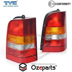 Pair LH+RH Tail Light Rear Lamp For Mercedes Benz Vito Van W638 1997~2003