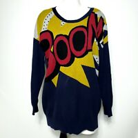 3.1 Phillip Lim Target Boom Women's Sweater Long Sleeves Size M