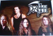 DEATH poster / Chuck Schuldiner LP symbolic human leprosy scream bloody gore