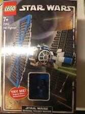Vintage Star Wars Lego 7263 Tie Fighter Boxed &  Light-up Lightsaber Darth Vader