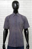 Camicia ROCCOBAROCCO Uomo Taglia Size 42 Collo 16 Shirt Cotone Manica Corta