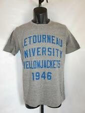 Neu Letourneau University Yellowjackets Erwachsene S S Grau Hemd