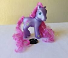 My Little Pony Petal Blossom 2002 MLP Purple Pony Super Long Hair