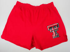 XL Red Cheerleader Shorts Texas Tech TT Elastic Waist Comfort Spirit Lounge NWT