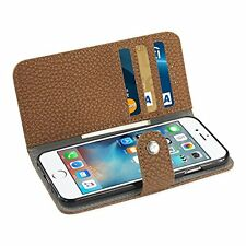 Reiko Credit Card Wallet Case/Slide Out Pocket & Fold Stand for iPhone 6,6S Plus