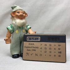 Eaia Oughtred Society Vintage 1996 Pocket Solar Calculator Credit Card Size