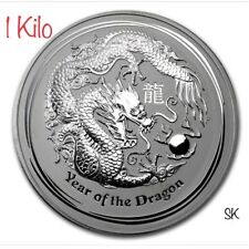 Commemorative Fine Australia Lunar Silver Coin Series Ii 2012 Year Of The Dragon Typeset Collection Australia